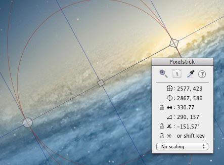 PixelStick - Mac App To Measure Pixel, Angle, Color Onscreen 6 pixelstick