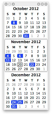 TinyCal - Google & Apple Calendar for Mac 2 tinycal