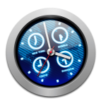 iclock world clock calendar timer alarms chimes mac menubar app