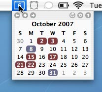 TinyCal - Google & Apple Calendar for Mac 3 tinycal