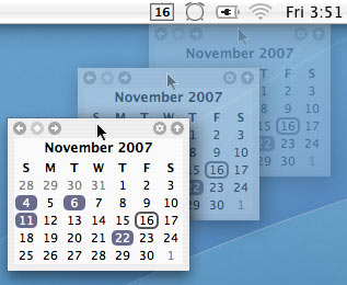 TinyCal - Google & Apple Calendar for Mac 5 tinycal