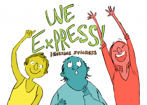 We Express - Messages Sticker App For iOS 1  we express