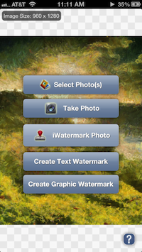 iWatermark Help 4