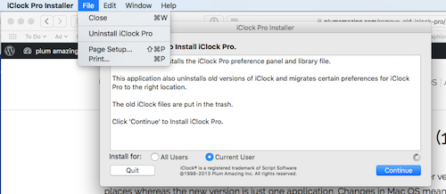 Remove Old iClock Pro 3