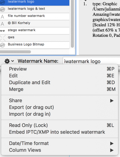 iWatermark Pro Manual Mac & Win (US) Page 58 iWatermark Pro Manual
