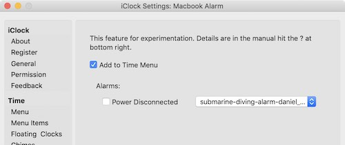 iClock for Mac | plum amazing