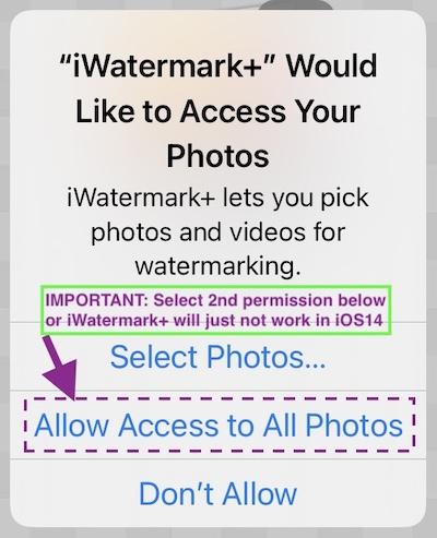iWatermark Help 1